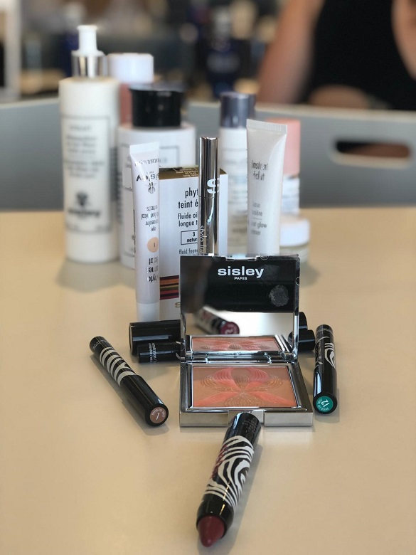 Masterclass de maquillaje de fiesta con SISLEY